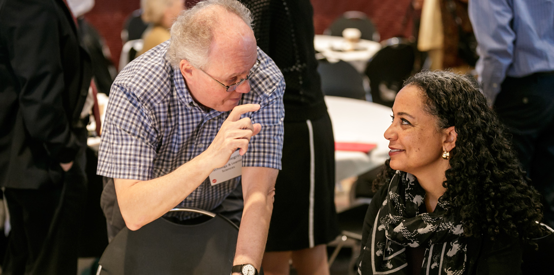 James Pellegrino, Distinguished Professor and Co-Director of Learning Sciences Research Institute, and Na'ilah Suad Nasir, President, Spencer Foundation