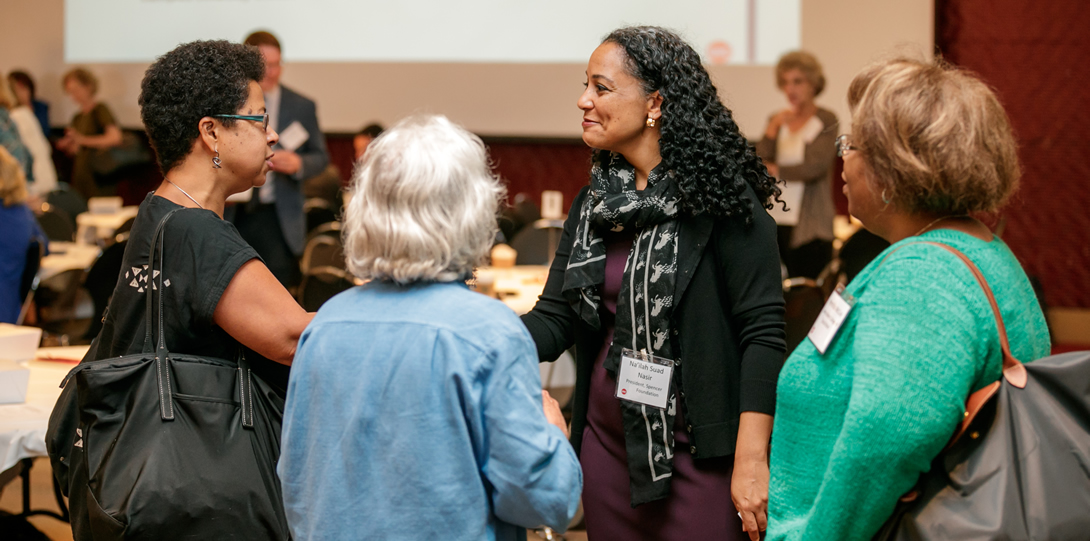 Barbara Ransby, Professor of History, African-American Studies, and Gender and Women's Studies, and Na'ilah Suad Nasir, President, Spencer Foundation